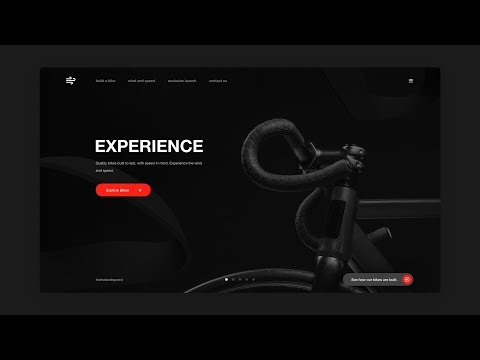 Adobe XD & Adobe Dimension Dark Theme Web Design - Tutorial thumbnail