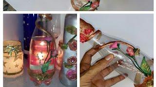 Faça Lindas Rosas – Reciclando Garrafas de água mineral