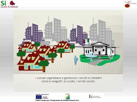 3 - L'Italia e i territori - Regioni, province e comuni - Scuola di italiano