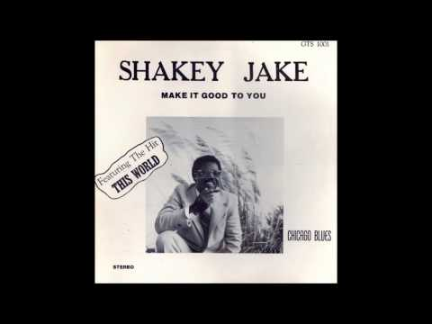 Shakey Jake Harris Rod Piazza MAKE IT GOOD TO YOU 1978 GTS STEREO Full LP