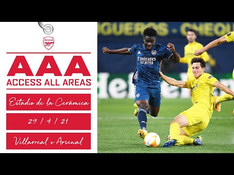 ACCESS ALL AREAS | Villarreal vs Arsenal (2-1) | The journey, highlights, interviews & more