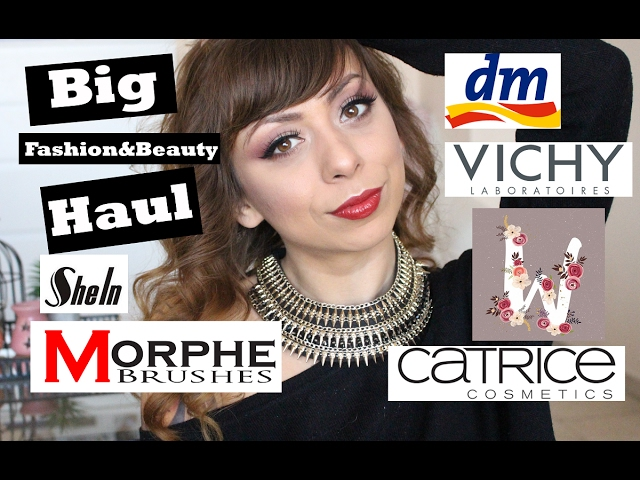 Haul - Нови придобивки - Shein, DM, Vichy, Morphe Brushes, Catrice и още