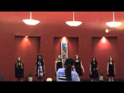 Kiki Jordan in Pin Oak Middle Schools 6th Grade Choir Cafe