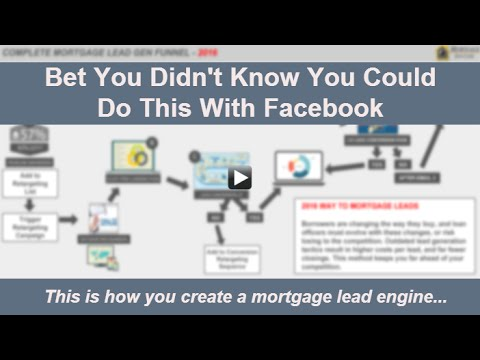 Mortgage Lead Engine - Raw Video