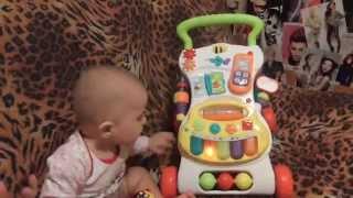 TAG / Обзор детской каталки-ходунка BabyGo ♥♥♥ Каролинка играет