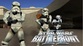 Star Wars Battlefront II Mod - Tatooine At War - Stock GCW Era - Empire Gameplay