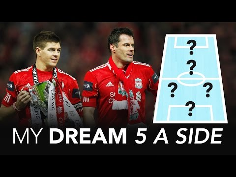 No room for Gary Neville | Jamie Carragher's Dream 5 A Side