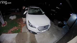 Police searching for man car burglary suspect