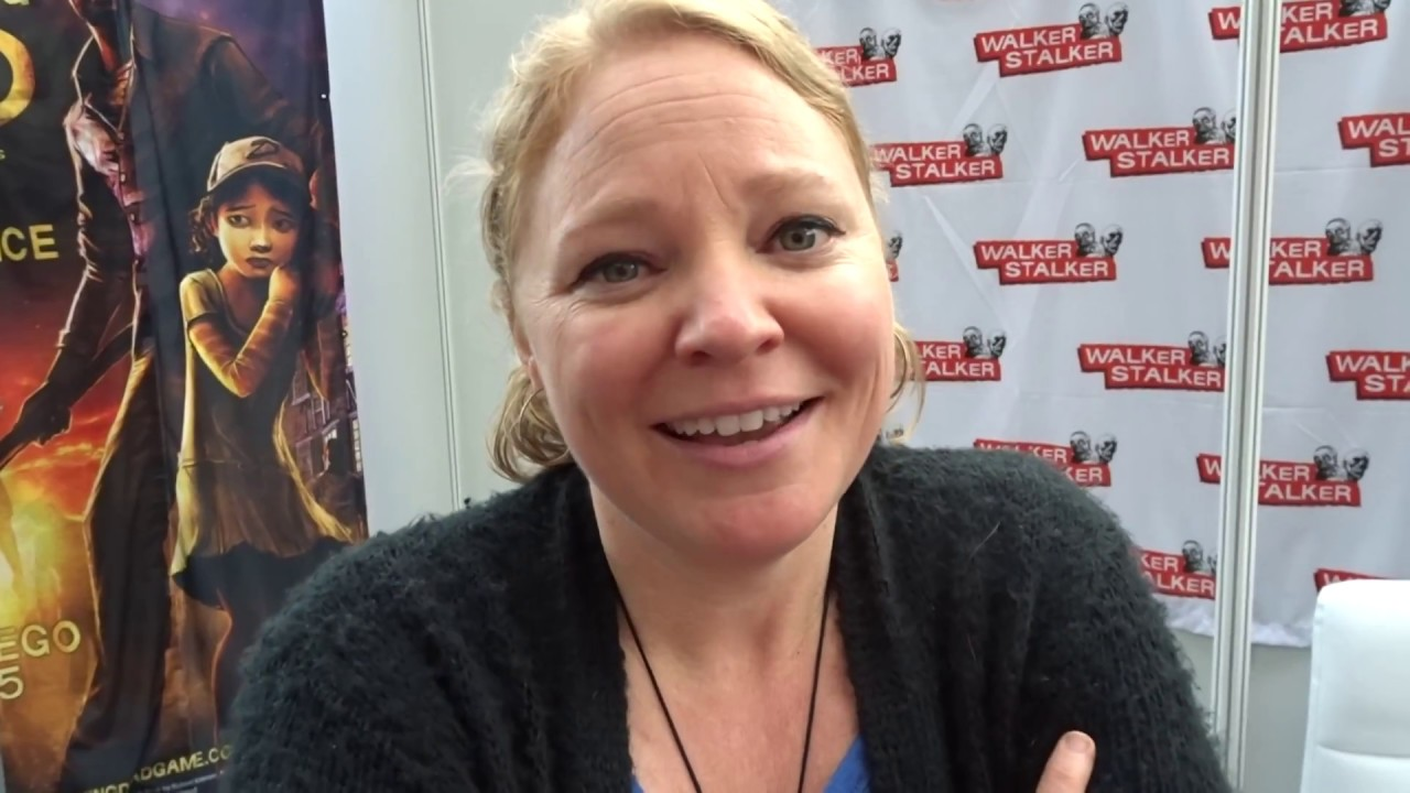 Melissa Hutchison Doing Clementine's Voice For Me - YouTube