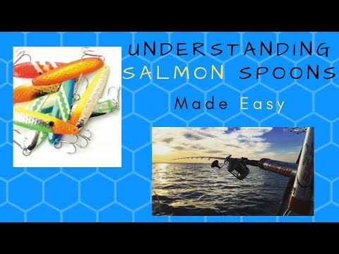 SALMON SPOON SECRETS/How To Fish Salmon Spoons/Fundamental  Fishing