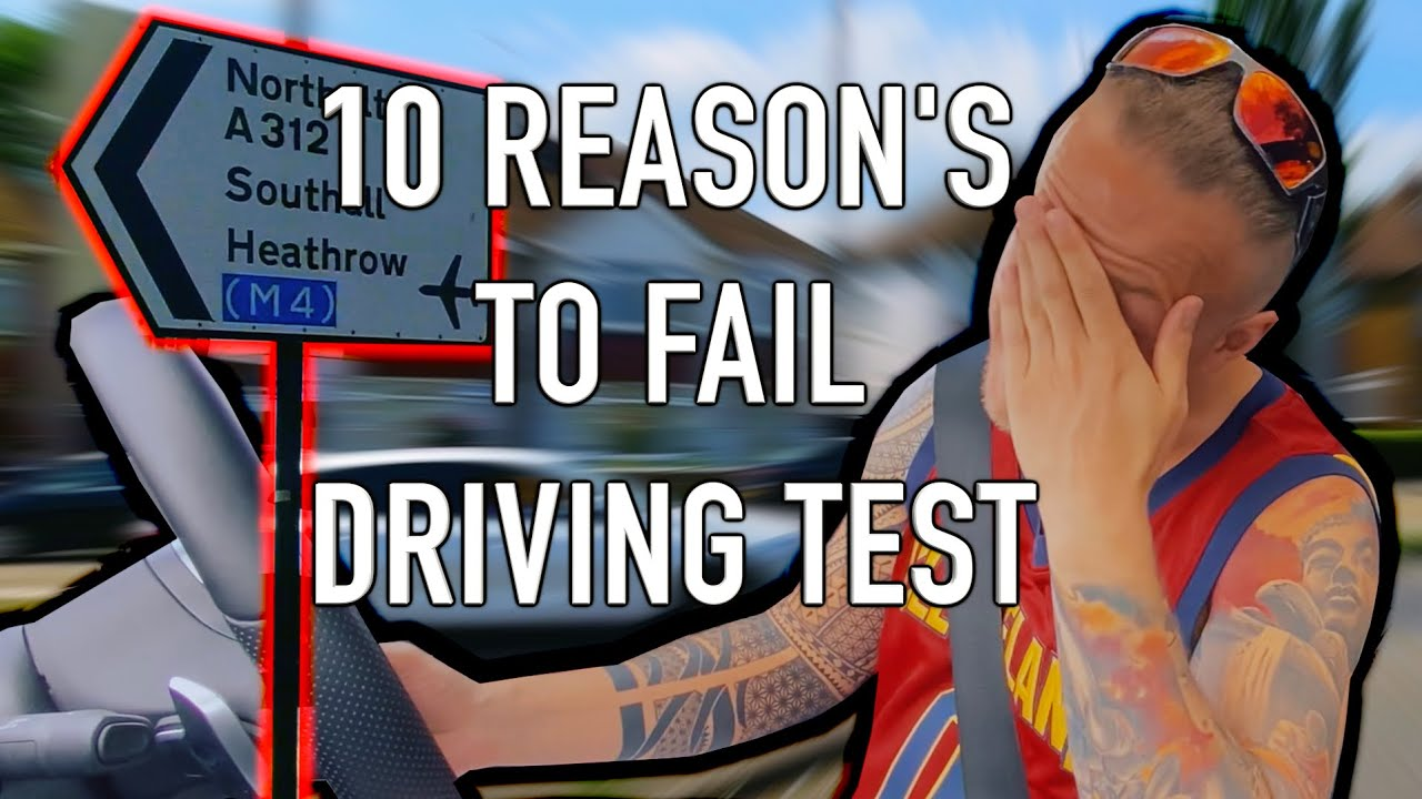 6 Response To Signs - Traffic Lights Top 10 Reasons For Failing Driving Test uk 2020