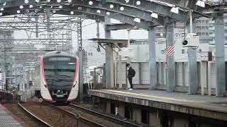 都営浅草線 5500形5501編成 快速特急 四ツ木駅通過