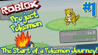 THE START OF A POKEMON JOURNEY!   Roblox: Project Pokemon - Episode 1