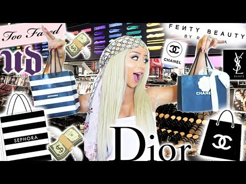 A VERY #EXTRA MAKEUP SHOPPING SPREE!