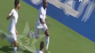 حسنية أكادير-أولمبيك خريبكة 1-0 هدف كريستانو سانتوس في الدقيقة 04.