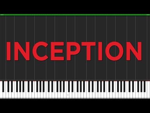 Time - Inception [Piano Tutorial] (Synthesia) // Popular Piano Improv