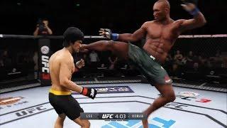 Bruce Lee vs. Kamaru Usman (EA Sports UFC 3)