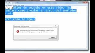 Areglar error de XINPUT1_3.dll emulador de dolphin
