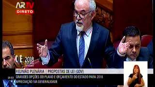 Debate na Generalidade OE 2018 | Resposta Ministro do Trabalho à Defesa da Honra da Bancada do PSD