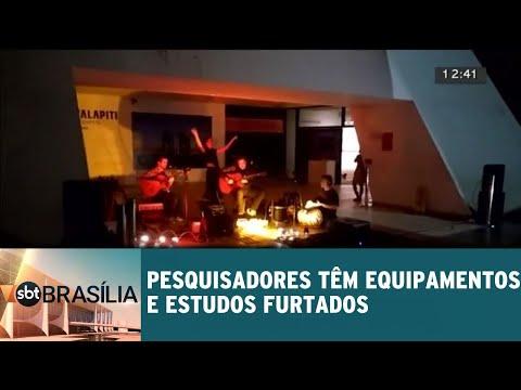 Pesquisadores têm equipamentos e estudos furtados | SBT Brasília 23/05/2018