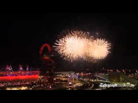 Spectacular Closing Ceremony firework display closes London 2012 Olympics