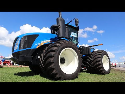 This Tractor Can Float On Water?? | Farm Progress Show 2019