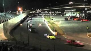 first half 50 lap u car caraway speedway november 2011