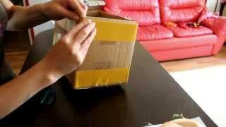 МАстер-класс: декор коробки тканью