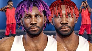 Nba live 18 player creation! new hairstyles, animations, clothes, play styles, shoes etc!