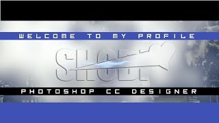 How To Make New Cut Glass Font || Make New Style Facebook Cover || By Shobi Editx