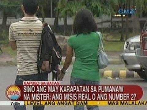 Sino ang may karapatan sa pumanaw na mister: ang misis real o ang number 2?