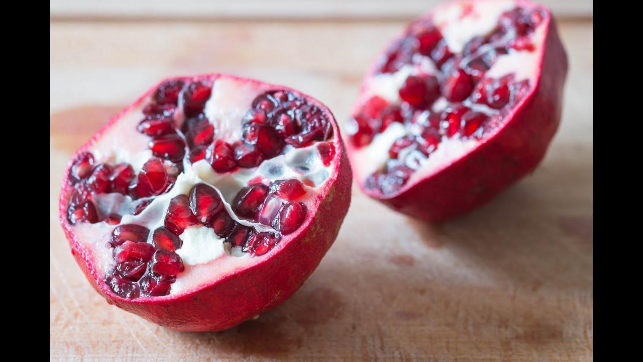 Gourmet v g tarien comment pr parer une grenade fruit youtube - Grenade fruit comment manger ...