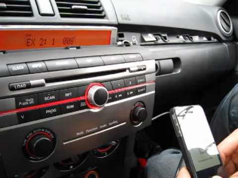 gta car kits - mazda 3 2004-2009 install of iphone, ipod, aux and
