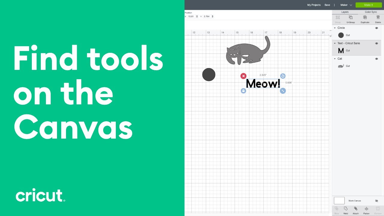 Canvas Overview - Introduction to Design Space - Tutorials for Beginners