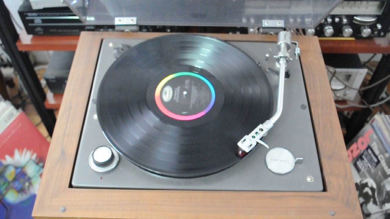 Vintage Rare SRP-471E JVC Record Player Turntable - YouTube
