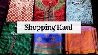 Shopping haul in Tamil | VLOG in Tamil | Dress and vessels shopping haul in Tamil