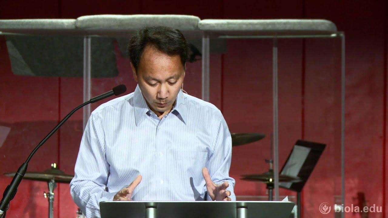 Michael Chang The Christian petitor Biola University Chapel