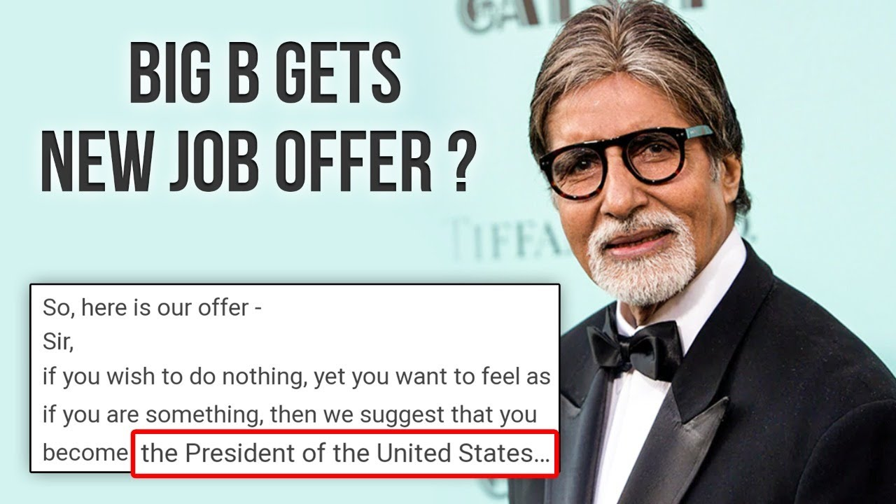 Amitabh Bachchan Offered To Become The President Of United States ? | Watch To Know Why?