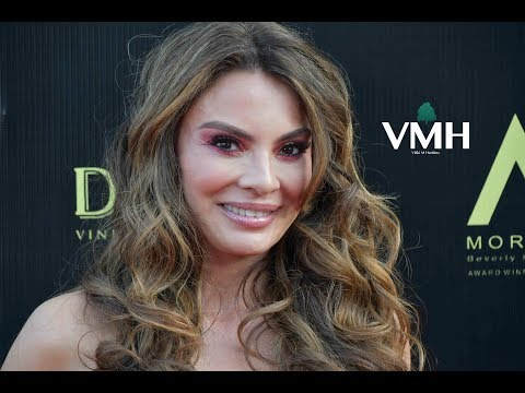 Actress Lilly Melgar   48th Daytime Emmy Awards Red Carpet