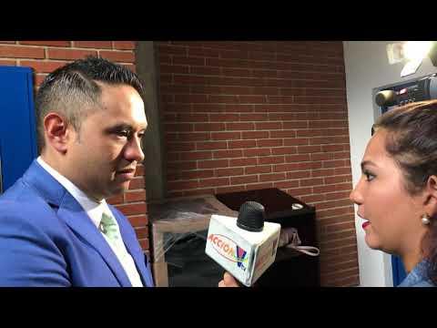 Entrevista del @DrMonteagudo a la television de Honduras