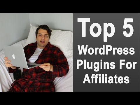 Top 5 WordPress Plugins for Affiliate Marketers