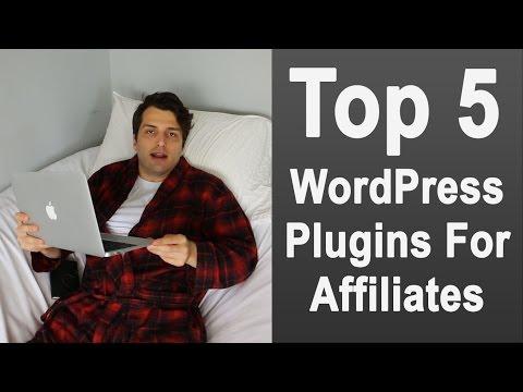 Top 5 WordPress Plugins for Affiliate Marketers
