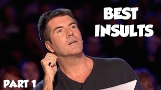Simon Cowell Best Insults PART 1 | SAVAGE