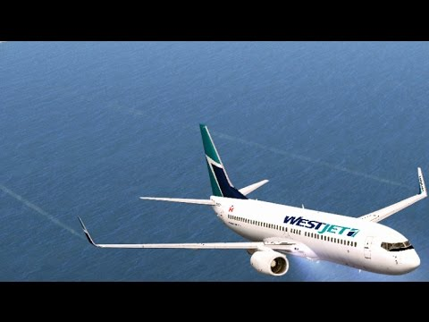 Toronto Pearson to Montego Sangster International Boeing 737 NGX WestJet