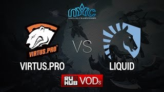 Virtus.pro vs Liquid, NYC Finals, Group Stage, Game 1