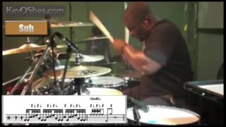 ★ Advanced Drum Lesson ★ Chris Coleman Gospel Chops Fill