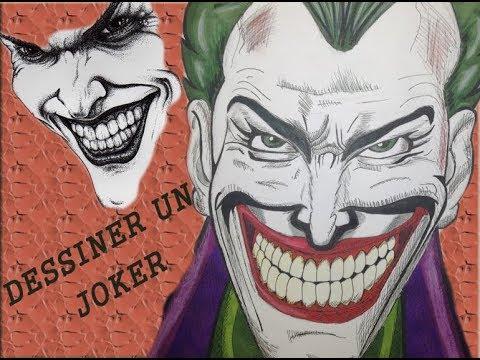 Comment dessiner joker facilement youtube - Comment dessiner joker ...