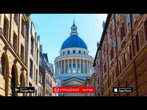 Latin Quarter – Sorbonne And Pantheon – Paris – Audio Guide – MyWoWo  Travel App