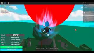 HOW TO MAKE BIG GENKIDAMA CULQUIER - DRAGON BALL RAGE - Roblox