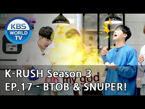 Today's GUEST : BTOB & SNUPER! [KBS World Idol Show K-RUSH3 2018.07.06]